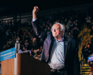 "Sanders supporters are signing a pledge: ""Bernie or Bust."" (Photo from BernieSanders.com)"